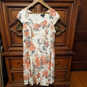 Liz Claiborne floral lace dress plus size 16W
